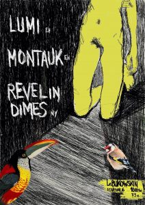 LUMI + MONTAUK + REVEL IN DIMES [USA] live!
