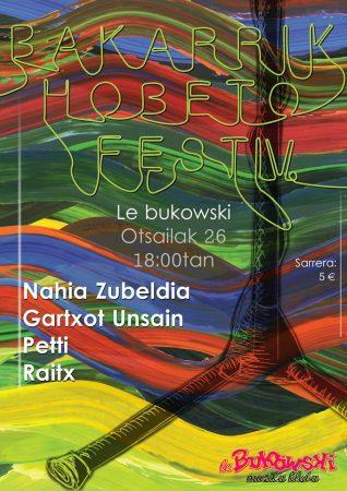 BAKARRIK HOBETO FEST IV